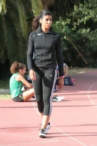Photo of البطلة 'ادريس' تتألق في ألعاب القوى