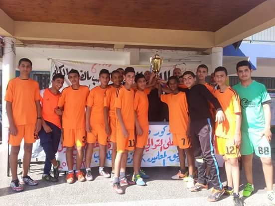 "Photo of ذكور  ديرالبلح الإعدادية ""ب"" تنظم مباراة كرة قدم إحياءً ليوم الصحة العالمي"
