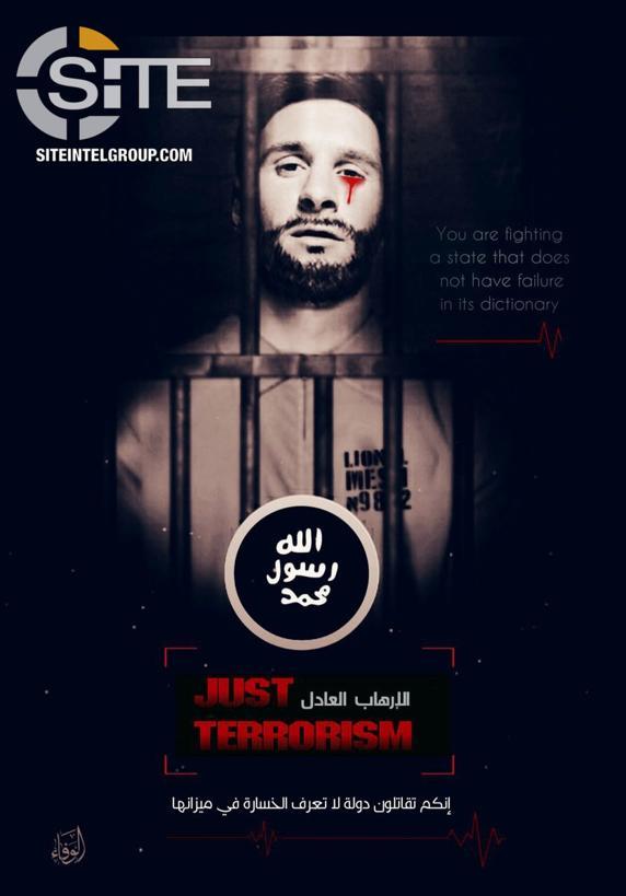 "Photo of ""داعش"" تطالب براس ميسى!"