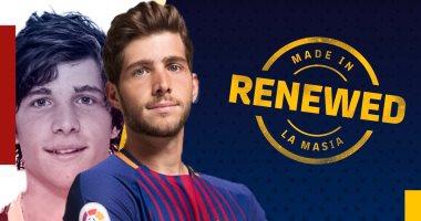 Photo of برشلونة يعلن تجديد التعاقد مع  روبيرتو بشرط جزائى عالي