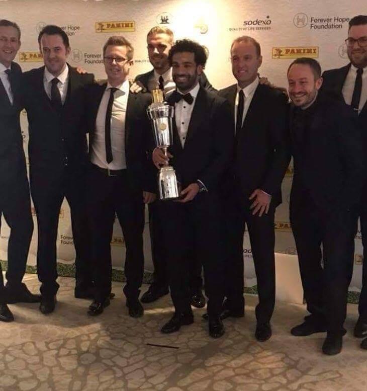 "Photo of ""محمد صلاح"" يفوز بجائزة أفضل لاعب فى إنجلترا"
