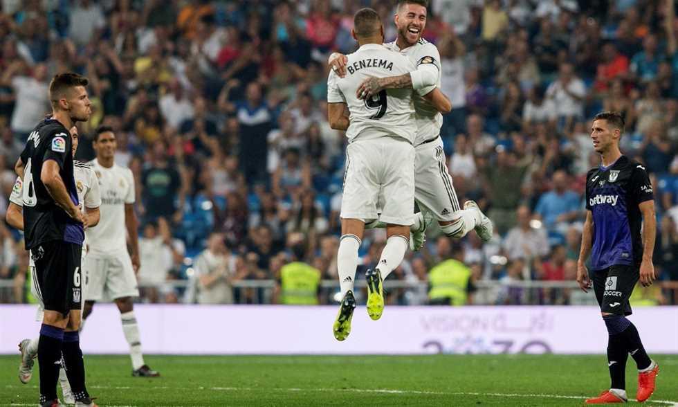 Photo of ريال مدريد يسجل رقم تاريخي في مباراته أمام ليجانيس