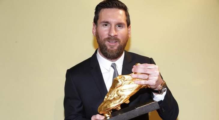 Photo of رسمياً.. ميسي يفوز بالحذاء الذهبي للمرة السادسة