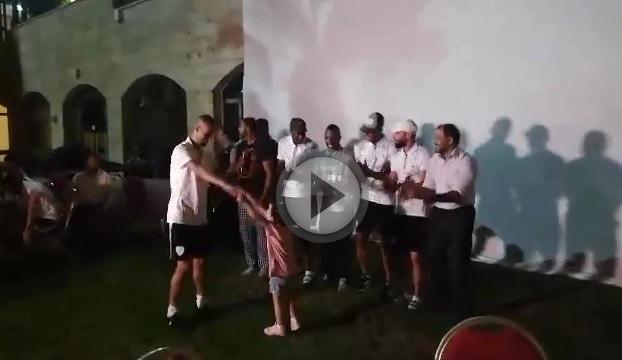 Photo of فيديو : حفل استقبال بعثة مركز بلاطة فى قطاع غزة