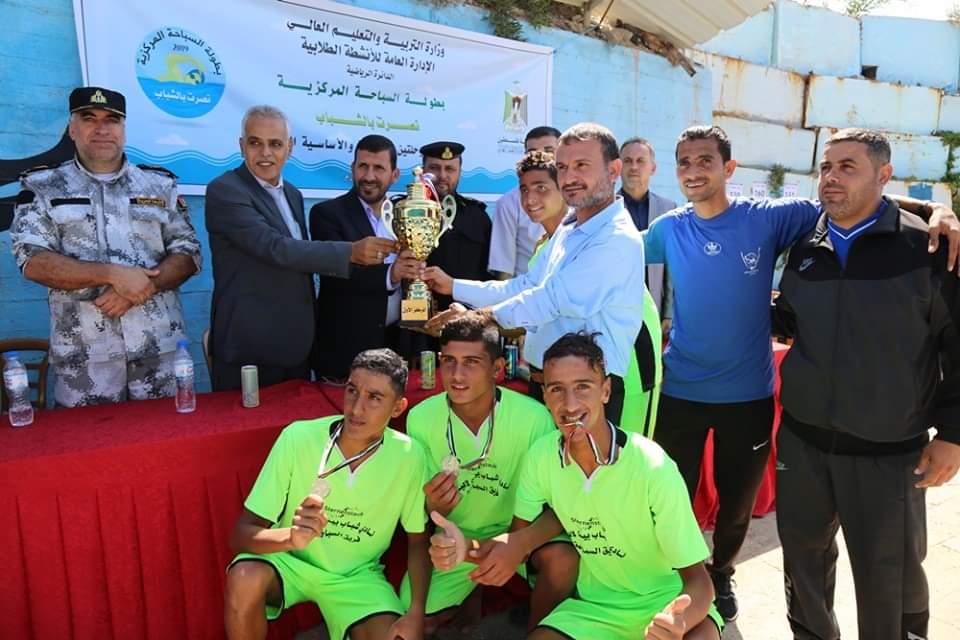Photo of سباحو مديرية تعليم الشمال يحتلون القطاع