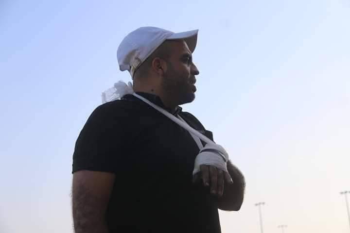 Photo of تهنئة بالسلامة لرئيس رابطة مشجعى نادي خدمات النصيرات