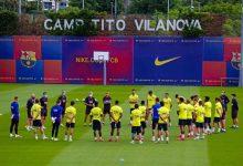 Photo of عودة برشلونة للتدريبات الجماعية استعدادًا لاستئناف الليجا