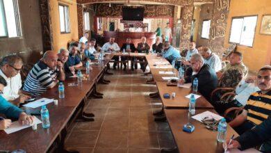 Photo of المكتب الحركي الرياضي المركزي يجتمع بكادر مدينة خانيونس الفتحاوي