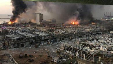 Photo of معزياً بضحايا انفجار مرفأ بيروت المأساوي.. اتحاد الاعلام الرياضي يؤكد تضامنه مع لبنان